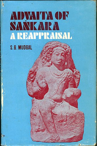 9780842607377: Advaita of Sankara, a reappraisal: Impact of Buddhism and Samkhya on Sankara s thought
