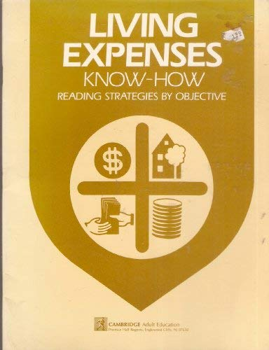 Living Expenses Know How (Know How Series): Cambridge