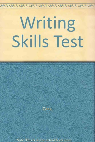 9780842891035: Writing Skills Test