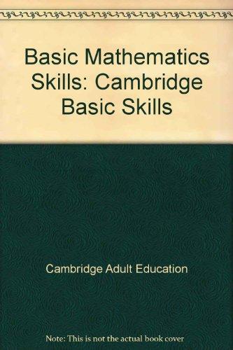 9780842893275: Basic Mathematics Skills (Cambridge Basic Skills)