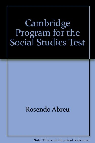 The Cambridge Program for the GED Social Studies Test: Abreu, Rosendo