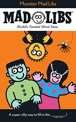 9780843100587: Monster Mad Libs