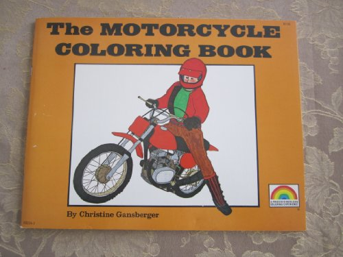 9780843102246: The Motorcycle Coloring Book