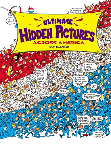 9780843102659: Ultimate Hidden Pictures: Across America