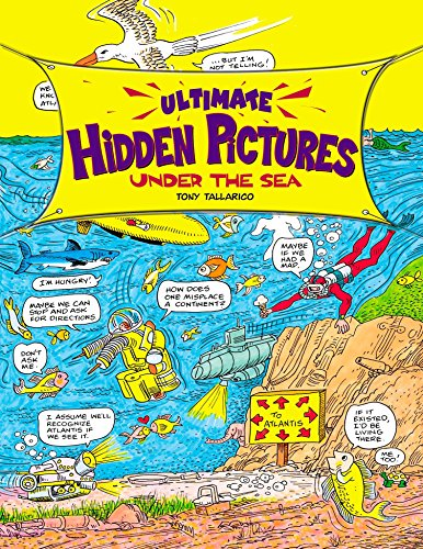 9780843102666: Ultimate Hidden Pictures: Under the Sea