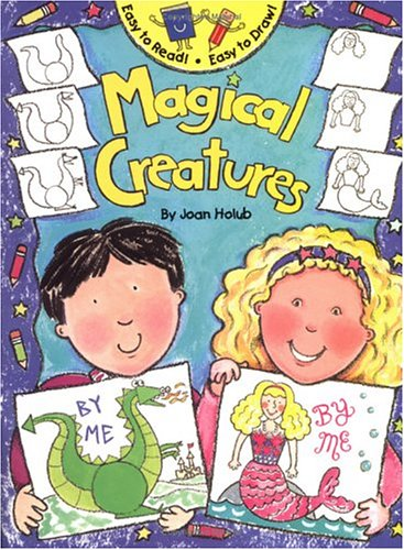 9780843104363: Easy To Read! Easy To Draw! Magical Creatures