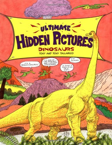 9780843106022: Ultimate Hidden Pictures: Dinosaurs