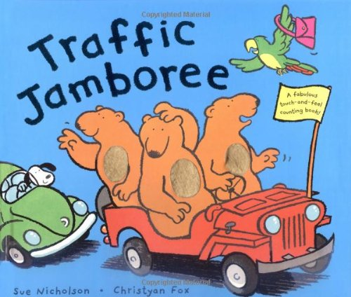 9780843106121: Traffic Jamboree (Touch-And-Feel Counting Books)