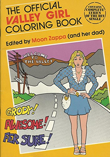 9780843106220: The Official Valley Girl Coloring Book