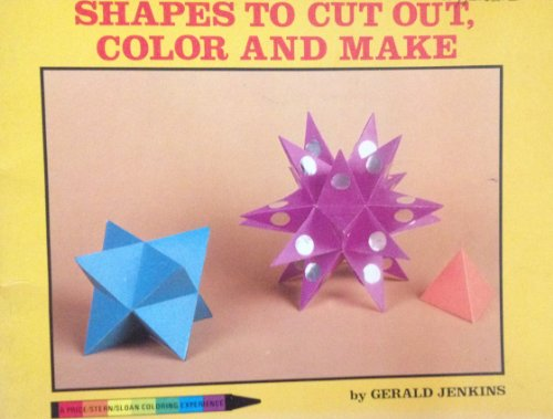 9780843106268: Shapes to Cut Out, Color and Make