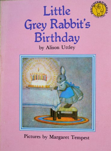 9780843107289: Little grey rabbit's birthday (Little grey rabbit cubs)