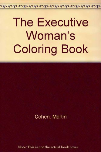 9780843107746: Executive Woman's Coloring Book