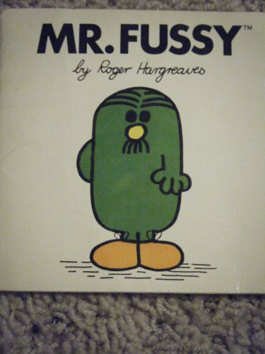 Mr Fussy (Mr. Men Books): M. C. Hargreaves