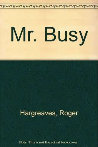9780843108187: Mr. Busy
