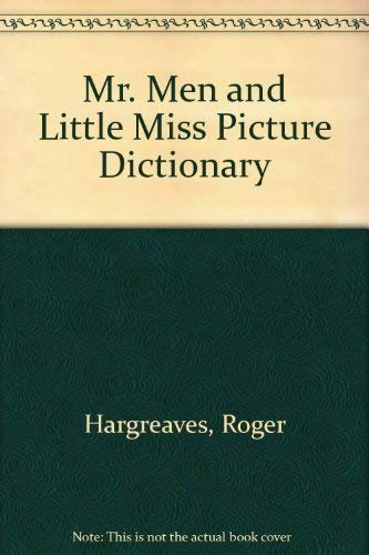 9780843108484: Mr. Men and Little Miss Picture Dictionary