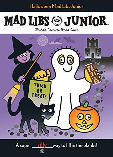 9780843115895: Halloween Mad Libs Junior