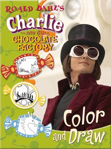 9780843116366: Roald Dahl's Charlie and The Chocolate Factory Color and Draw (Charlie & the Chocolate Factory)