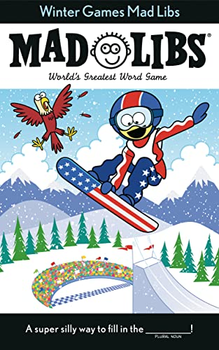 9780843116519: Winter Games Mad Libs