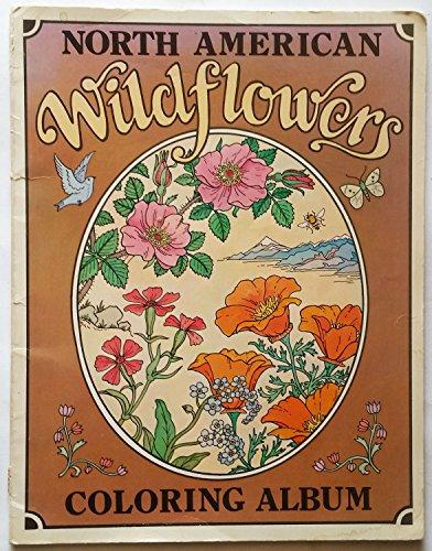 9780843117172: North American Wildflowers Coloring Album