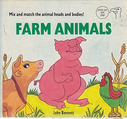 Press-out:farm Animal (9780843119336) by John Bennett