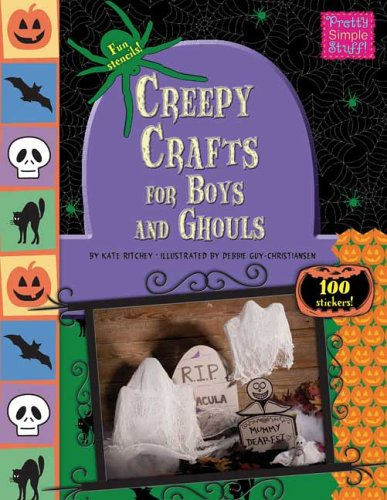 9780843120233: Creepy Crafts for Boys and Ghouls (Pretty Simple Stuff! (Paperback))