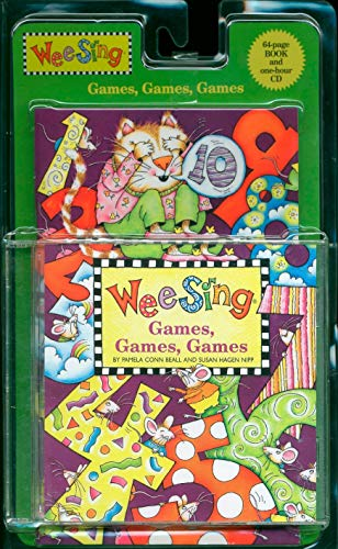 9780843120356: Wee Sing Games, Games, Games with CD (Audio)