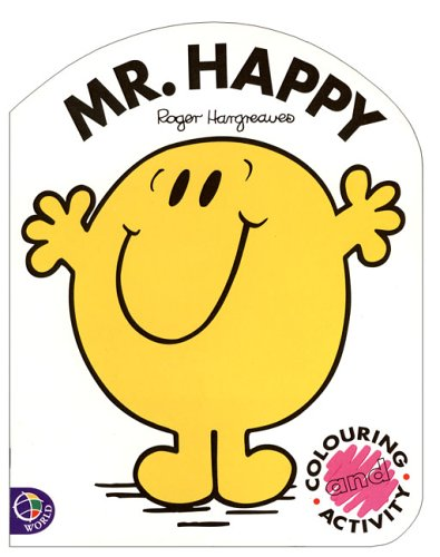 9780843120400: Mr. Happy: Coloring & Activity (Mr. Men and Little Miss)