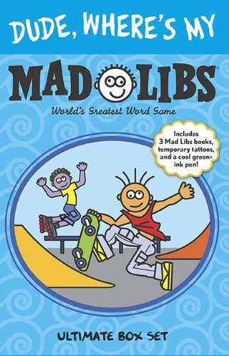 9780843122282: Dude, Where's My Mad Libs: Ultimate Box Set