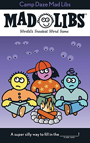 9780843122398: Camp Daze Madlibs: Worlds Greatest Party Game