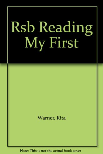 Rsb Reading My First (0843125020) by Rita Warner; Brenda Jackson; Ronald L. McDonald