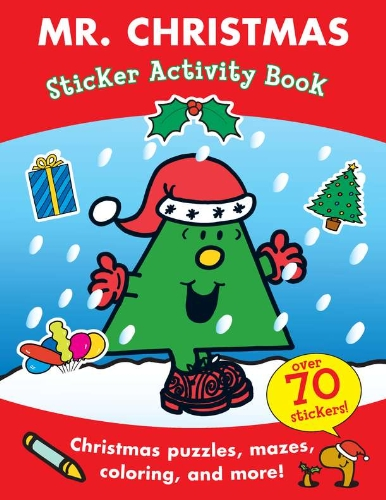 9780843126709: Mr. Christmas Sticker Activity Book (Mr. Men and Little Miss)