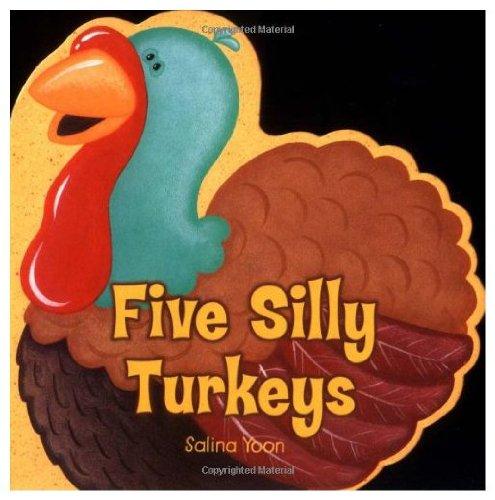 9780843126938: Five Silly Turkeys [5 SILLY TURKEYS]