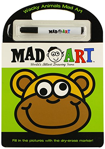 9780843127027: Wacky Animals Mad Art