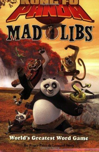 Kung Fu Panda Mad Libs: Roger Price