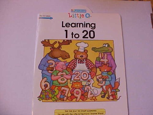 9780843131345: Lil.q:learning 1-20 (Questron Little Q Electronic Books)