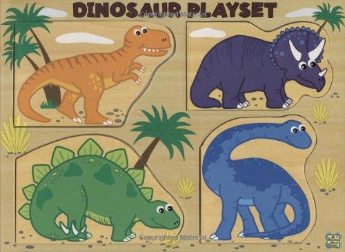 9780843133226: Dinosaur Playset A Pss! Plus a Book