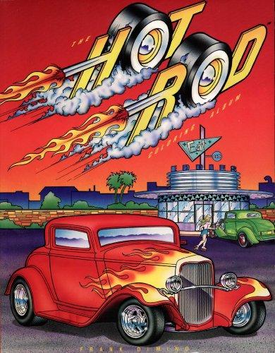 9780843135145: The Hot Rod Coloring Album (Troubadour Press)