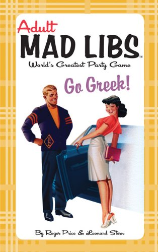 9780843137118: Go Greek! (Adult Mad Libs)