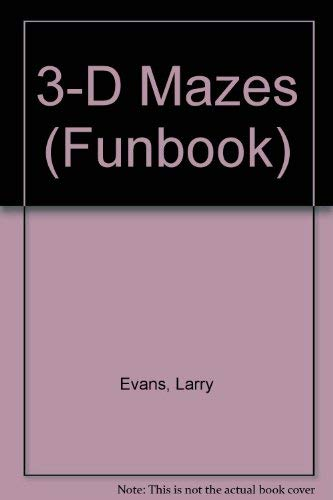 9780843138887: 3-D Mazes (Troubadour)
