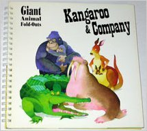Kangaroo and company (Giant Animal Fold-Outs): Lisa Rojany-Buccieri