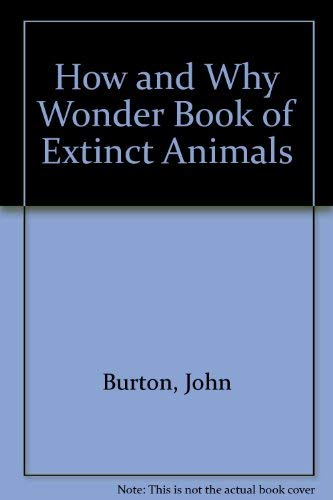 Hw Extinct Animals (9780843142525) by John Burton