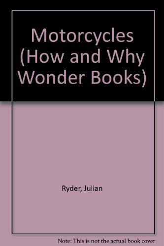 9780843142877: Hw Motorcycles (How and Why Wonder Books)