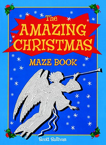 9780843143980: The Amazing Christmas Maze Book