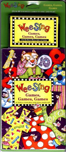 9780843149210: Wee Sing Games Games Games book and cassette (reissue)