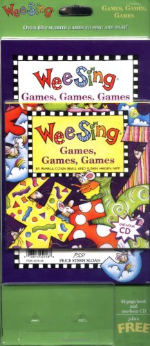 9780843149227: Wee Sing Games Games Games book and cd (reissue)