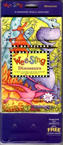9780843149470: Wee Sing Dinosaurs book and cd (reissue)