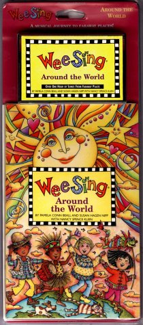 9780843149517: Wee Sing Around the World book and cassette (reissue)
