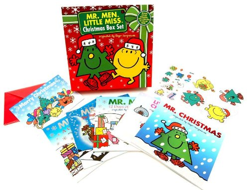 9780843172089: Mr. Men Little Miss Christmas Box Set (Mr. Men and Little Miss)