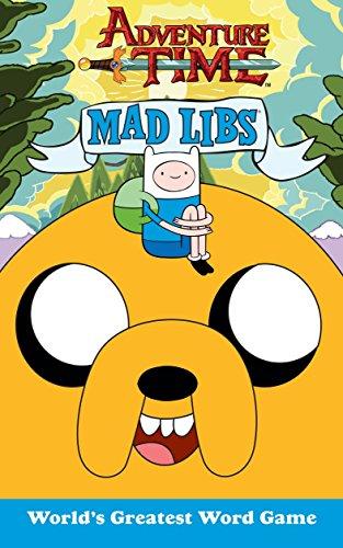 9780843172218: Adventure Time Mad Libs