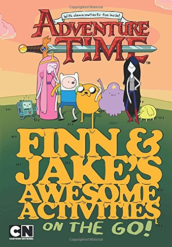 9780843173413: Finn and Jake's Awesome Activities on the Go